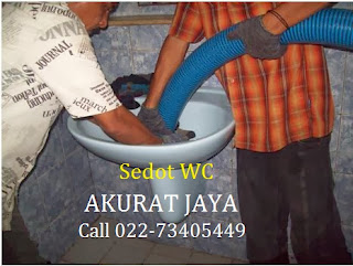Jasa Sedot WC Mampet Bandung Dan Antapani