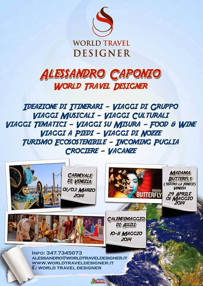 WORLD TRAVEL DESIGNER
