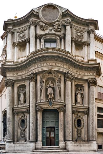 Secci n biling e ies santos isasa montoro meraviglie di for Baroque architecture in italy