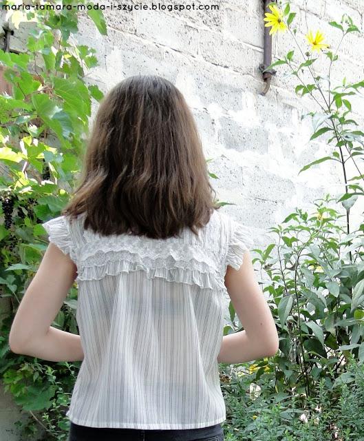 eleganckie białe bluzki