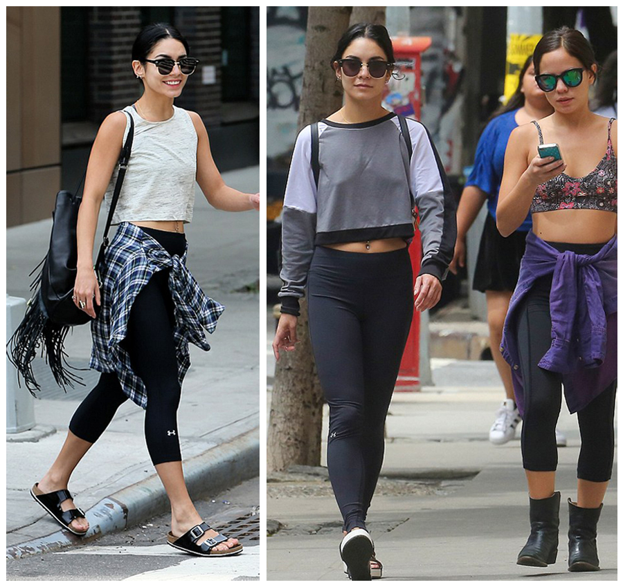 How to Style Black Leggings Like a Celebrity - Fashionmylegs : The ...