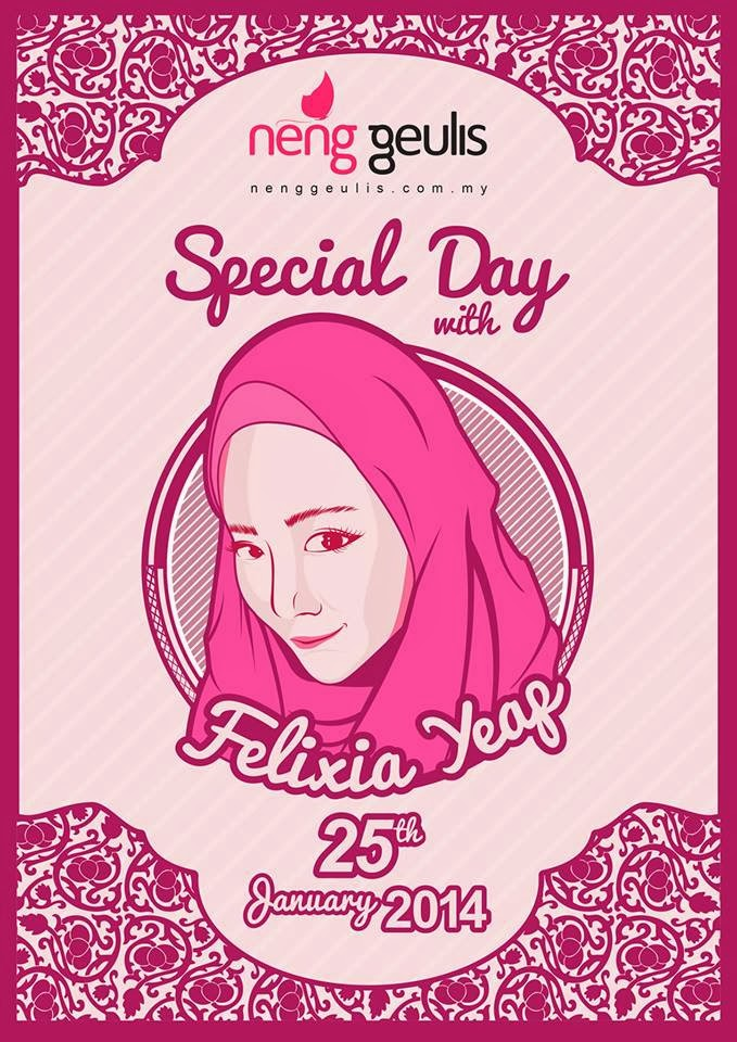 NENG GEULIS SPECIAL DAY with FELIXIA YEAP