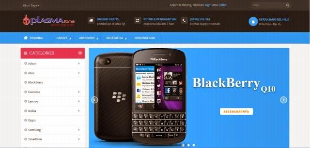 Plasmafone.com Toko Handphone Harga Grosir Terpercaya