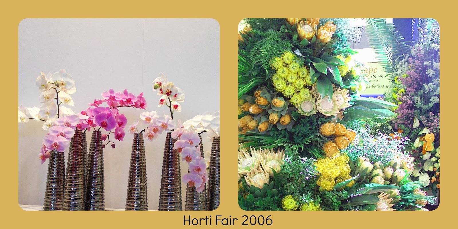 feria, stand, decoración