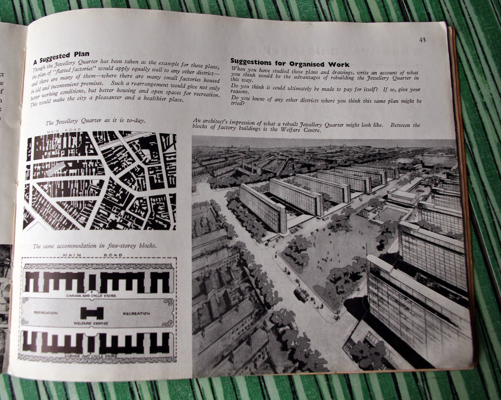 10 amazing official postwar plans dirty modern scoundrel for Coventry plan