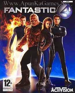 fantastic four game free