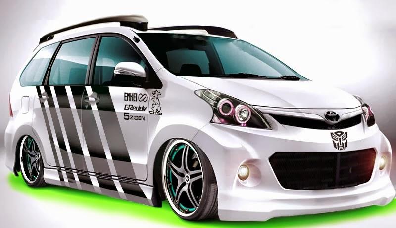 Modifikasi Toyota Avanza Veloz Terbaru Sporty