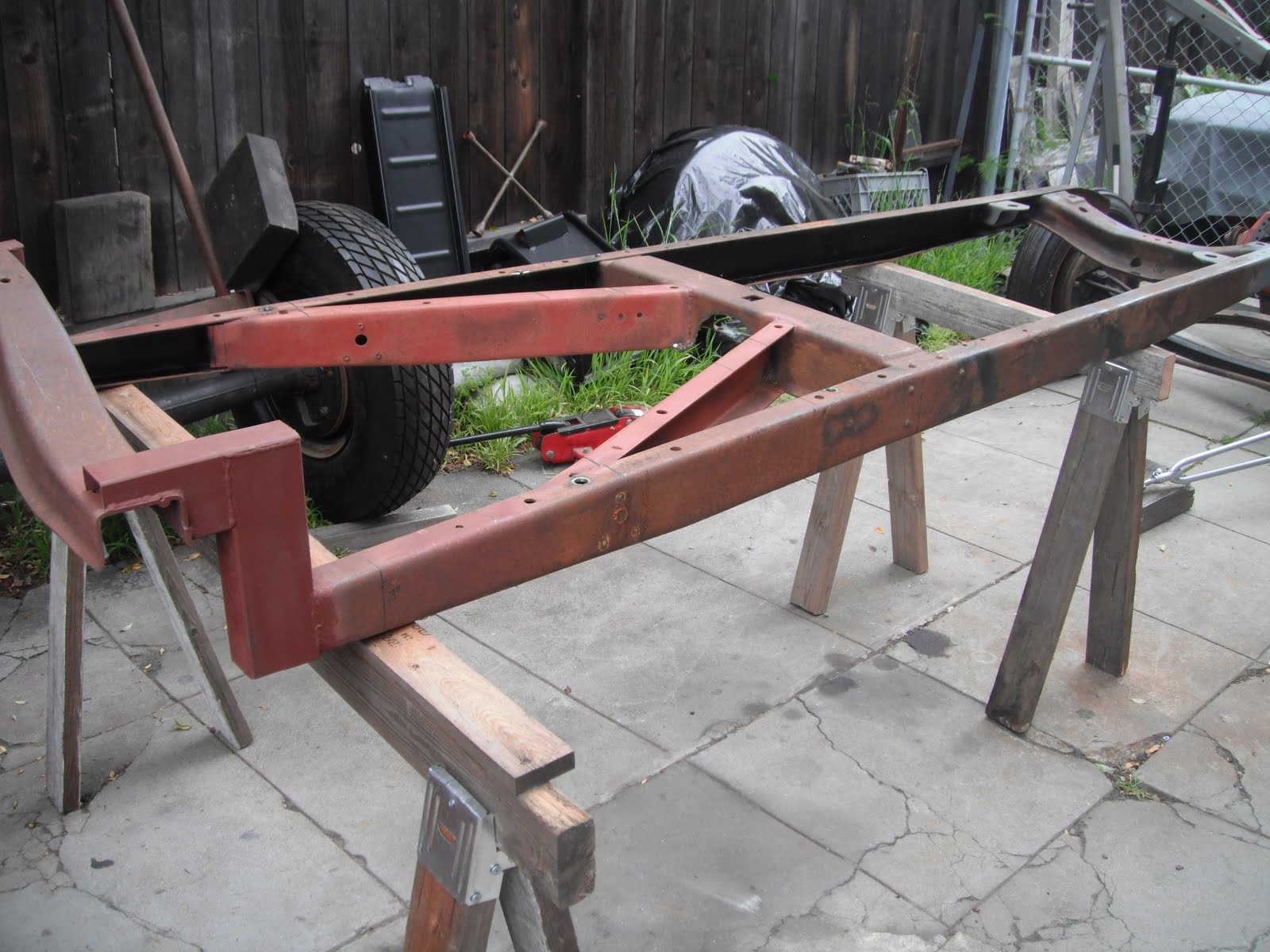 The Hot Rod Disorder™: Boxing My Model A Frame