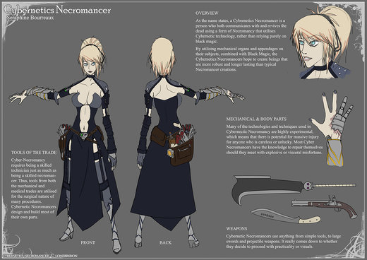 Cybernetics Necromancer por Lomebririon