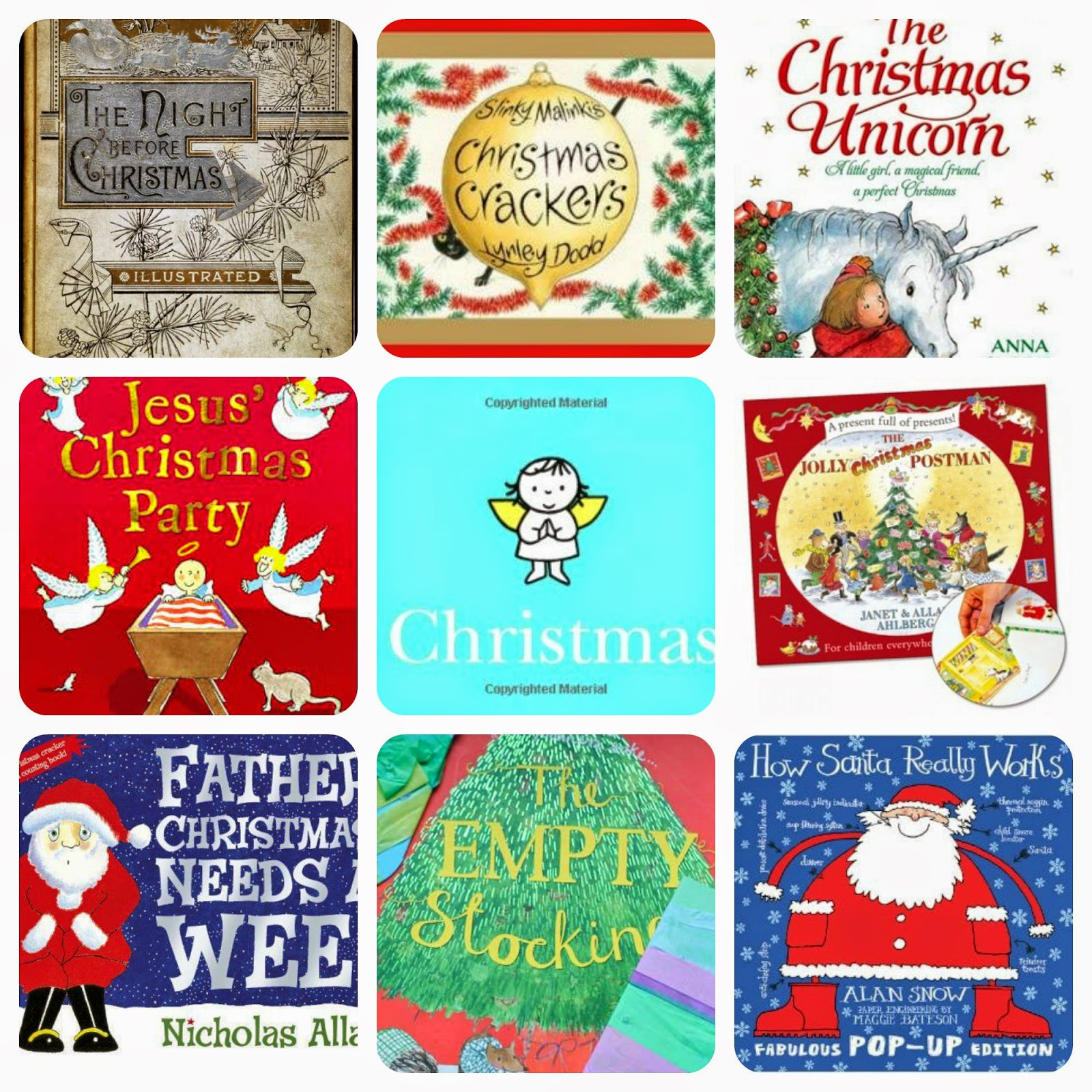 What are your top Christmas books to share with your children?