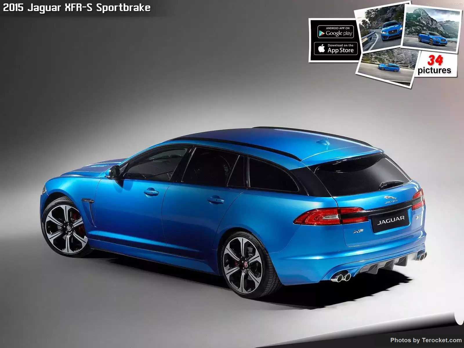 Hình ảnh xe ô tô Jaguar XFR-S Sportbrake 2015 & nội ngoại thất