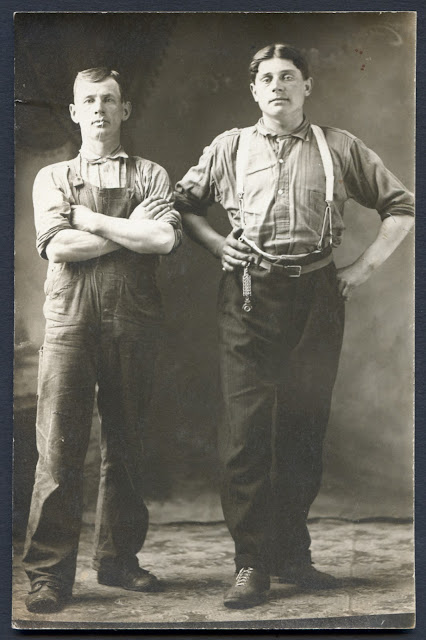 Union Made Circa 1910 1924 Workers Real Photo Postcard