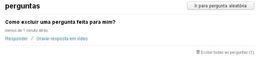 Pergunta ask