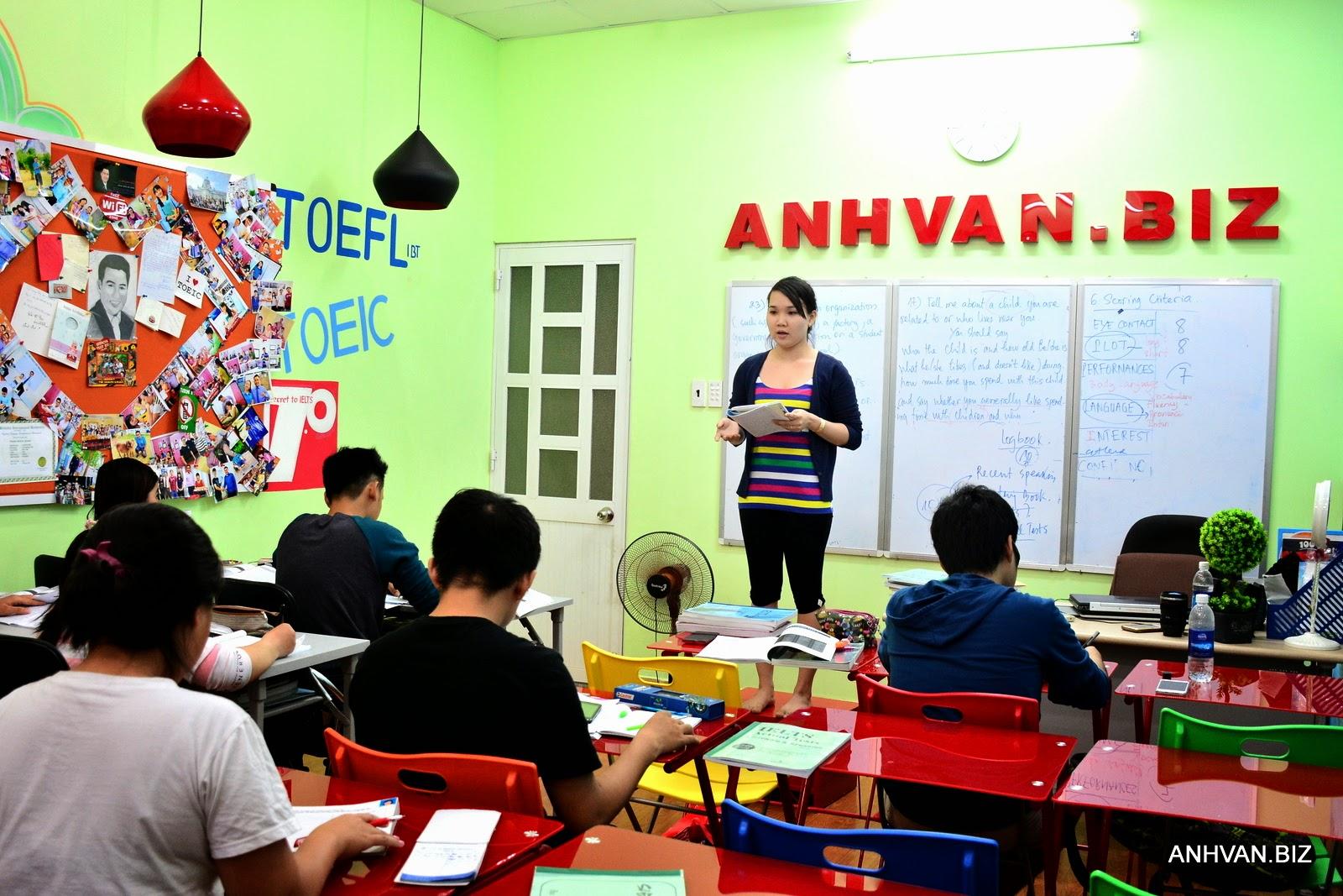 Hoạt động Speaking của Lớp Anhvan.biz