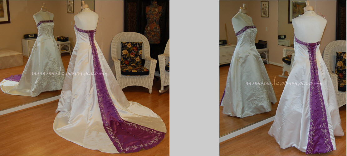 How to bustle a sweep train for a tango dance for Wedding dress train bustle