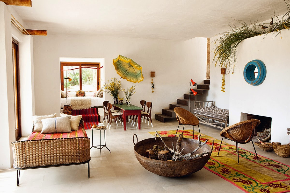 Interiors decorator luis galliussi in ibiza for Architecture interieur salon