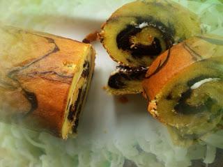 Resep Membuat Kue Bolu Gulung Kukus Coklat Keju Lembut