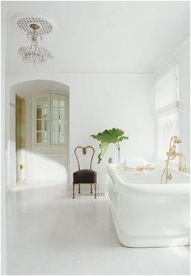Romantic bathroom design ideas for Small romantic bathroom ideas