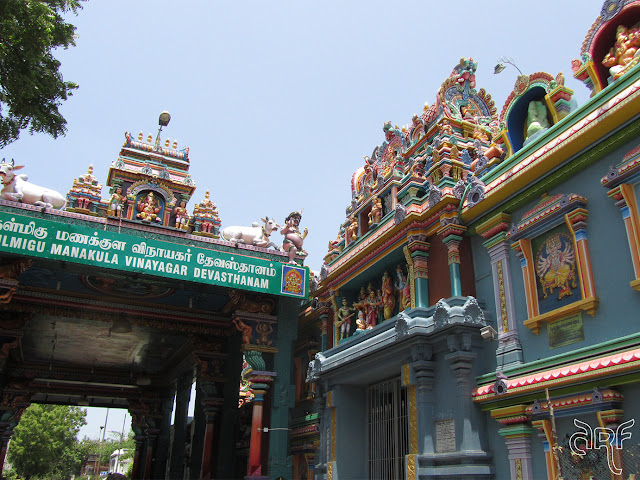 Hindu temple in Pondicherry