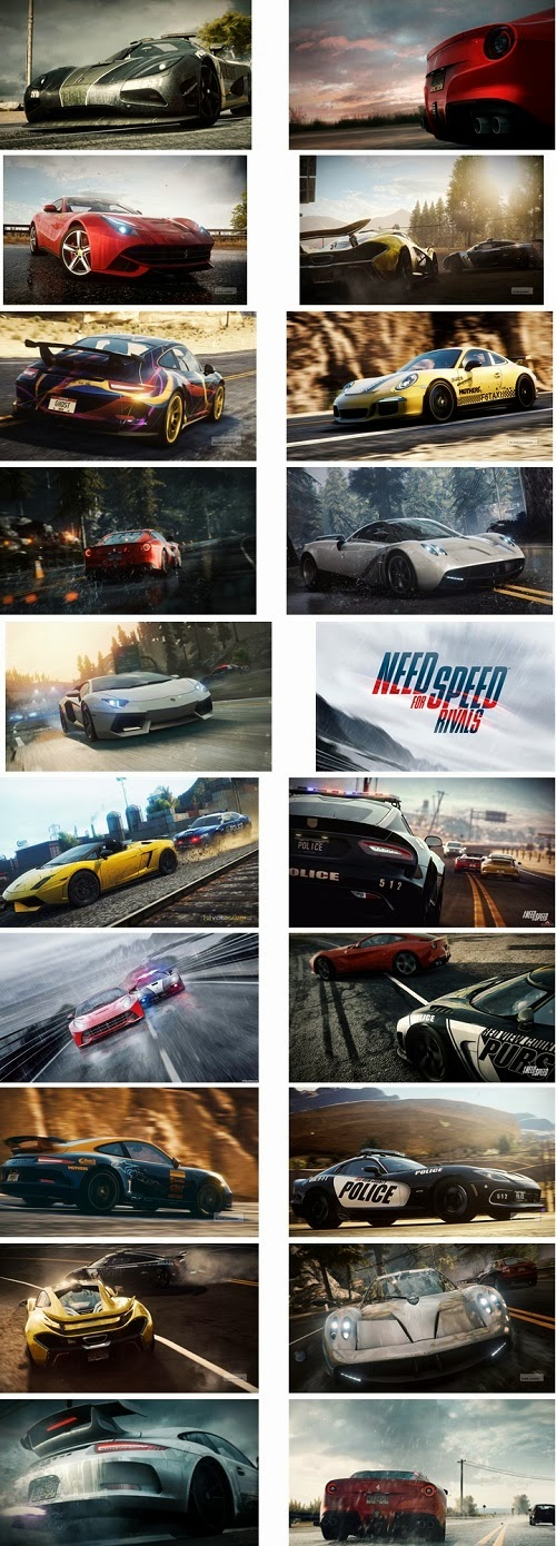 Need For Speed Rivals Theme For Windows 7 And 8 8.1