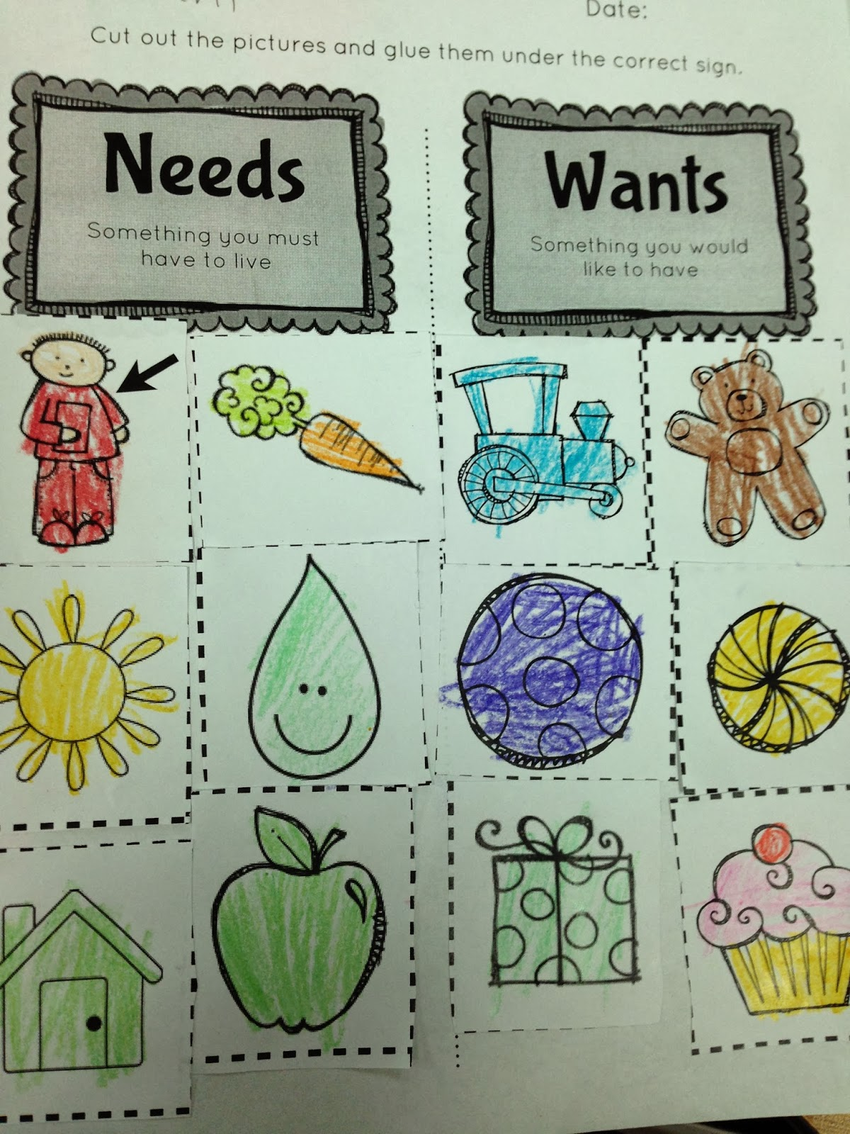 Wants And Needs Activities | www.imgkid.com - The Image ...
