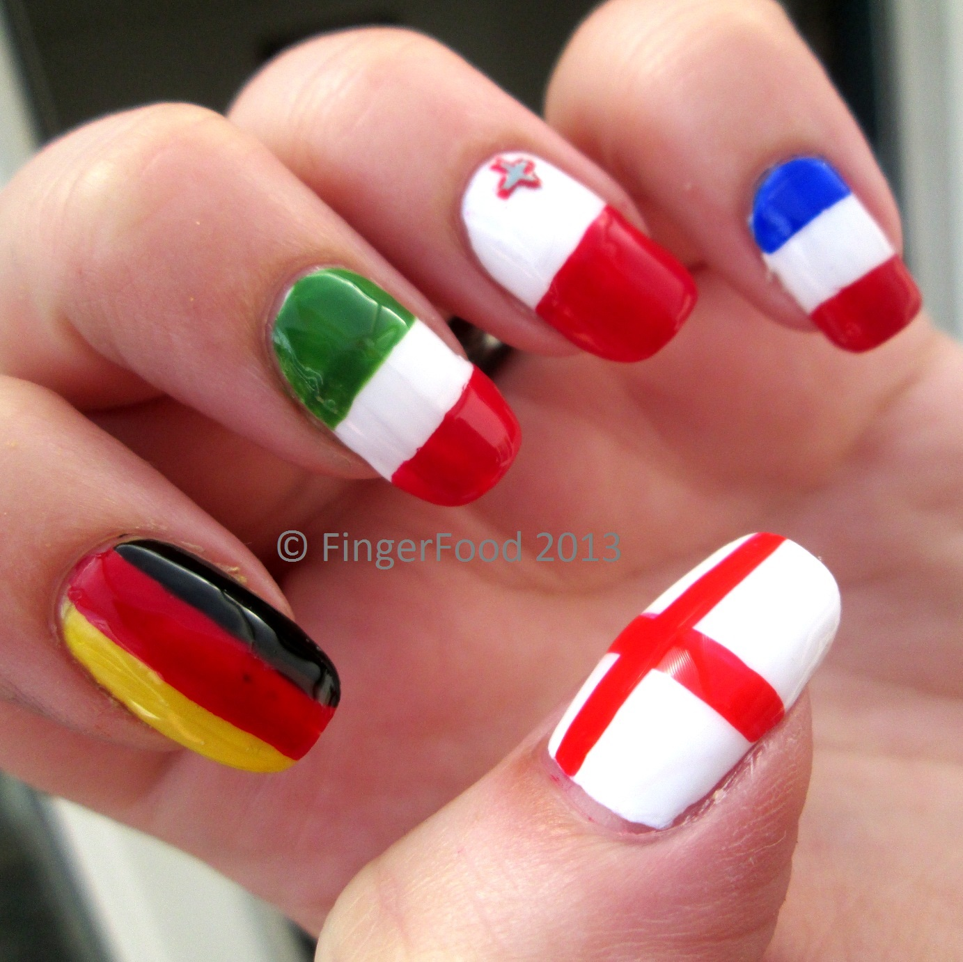 FingerFood: NCC Around the World month #4 - A European Road Trip