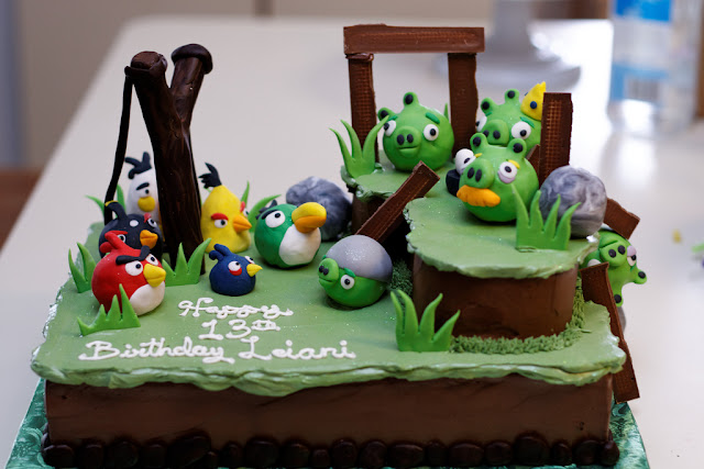 angry birds cake designs