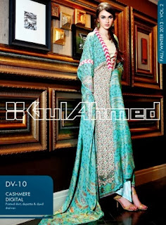 Gul Ahmed Cashmere Dresses
