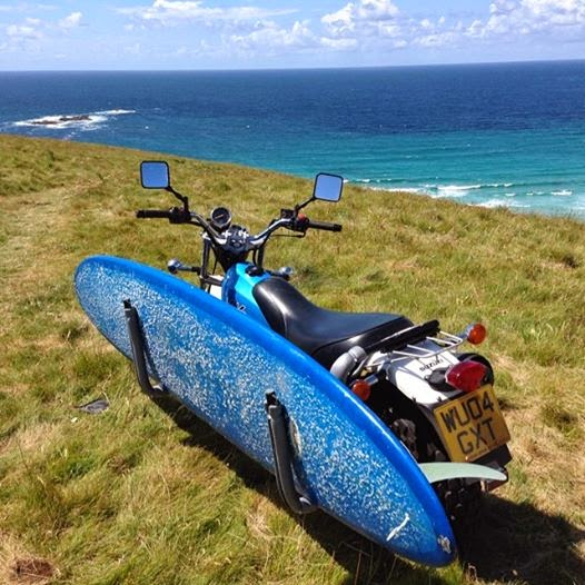 Suzuki Van Van Surfboard Rack