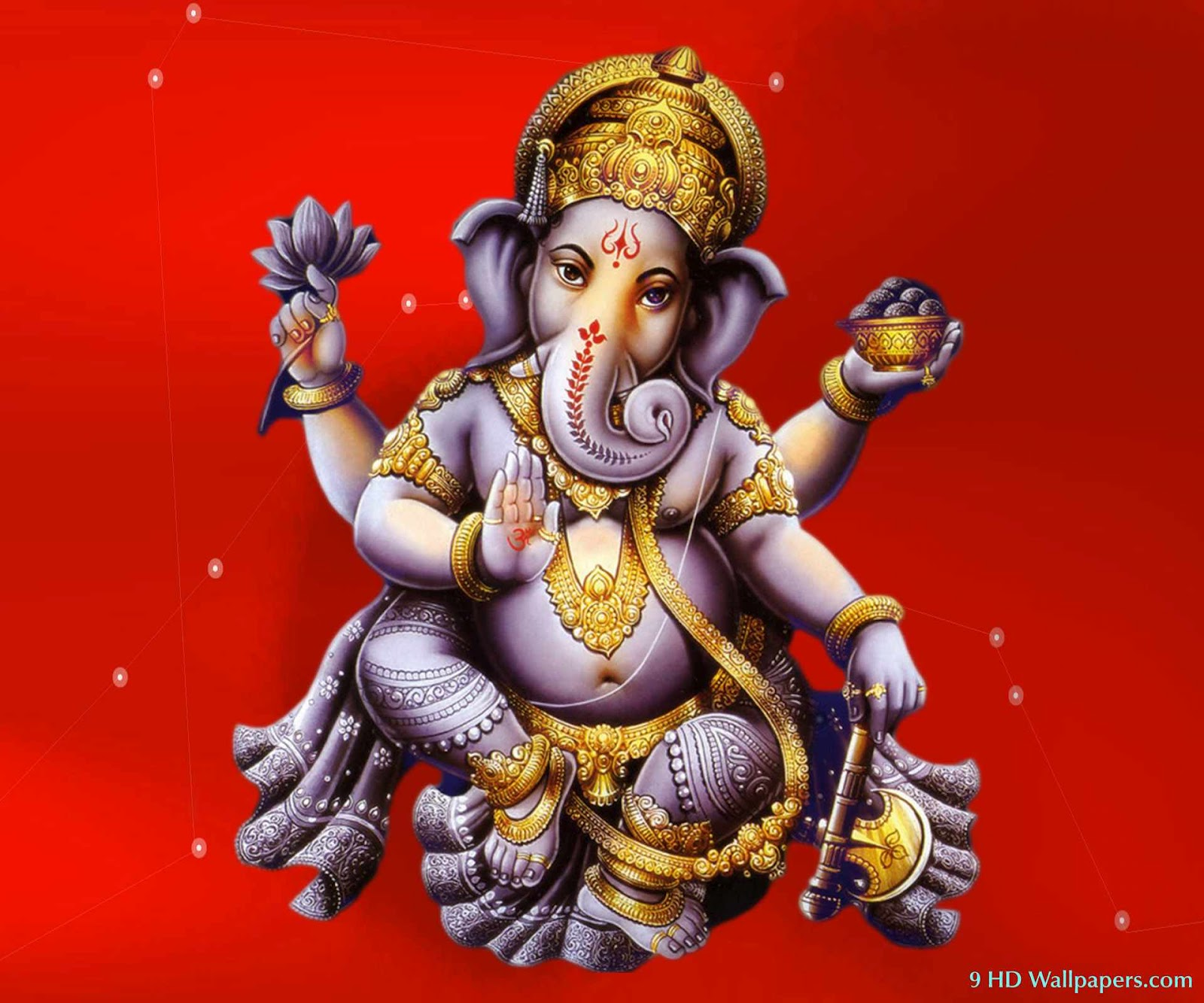 siddhivinayak ganpati hd wallpaper