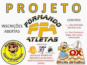 PROJETO FORMANDO ATLETAS