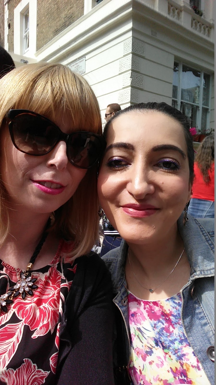 Notting Hill Carnival selfie with Grace