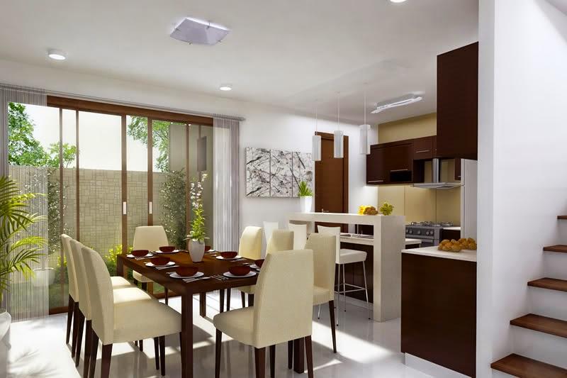 tips dekorasi ruang makan kecil desain rumah idaman