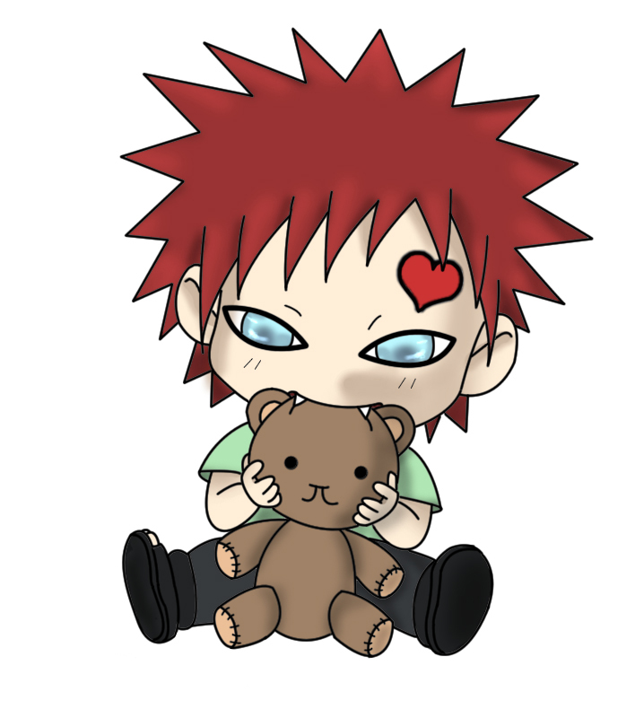 free wallpaper: naruto itachi chibi and gaara chibi wallpaper