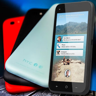 HTC First or Facebook phone (pictures)