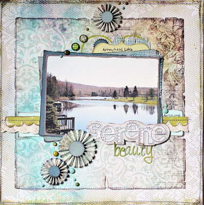 Sharon Fritchman_Arrowhead Lake_Scrapbook