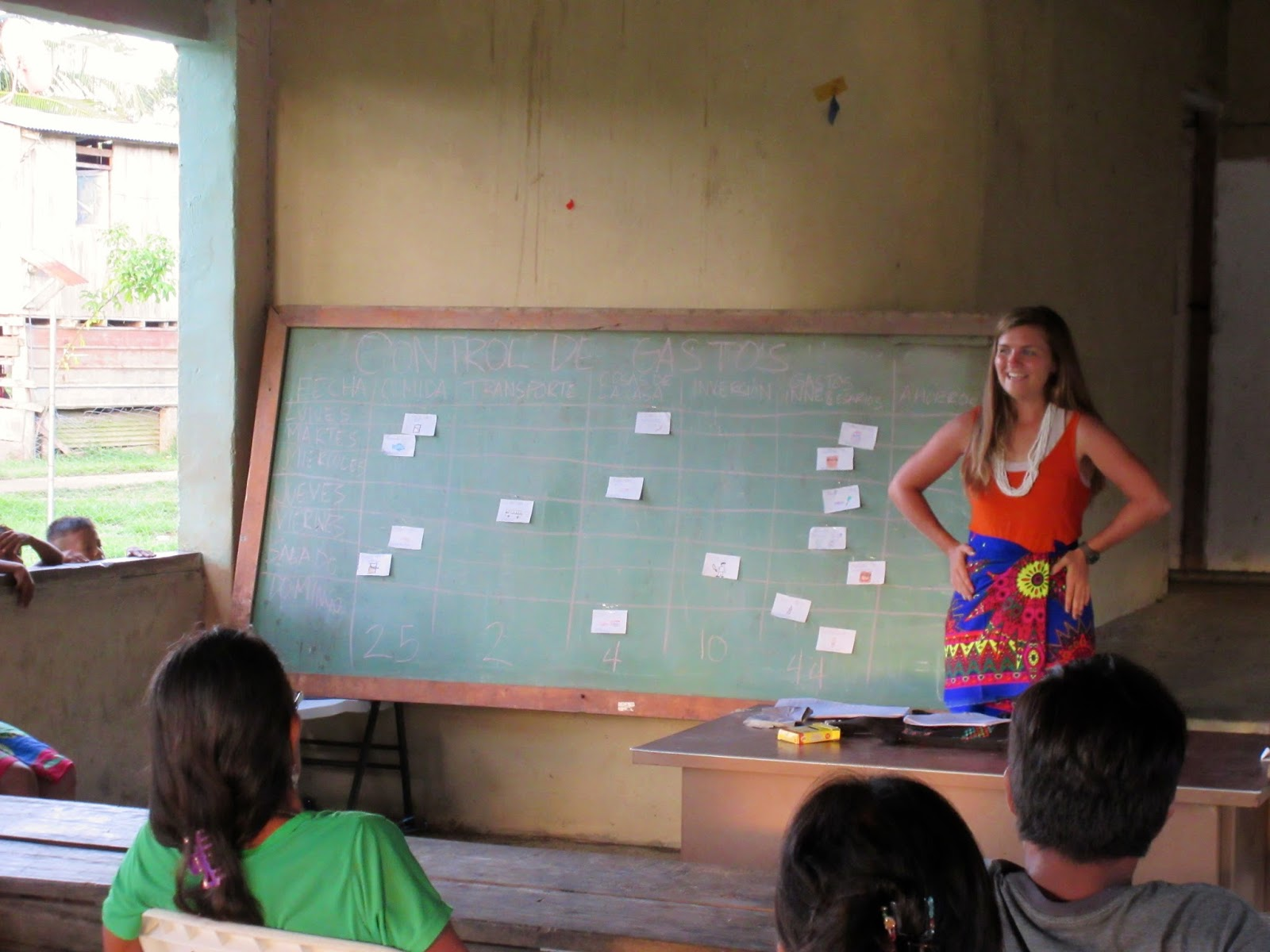 Abby Bryant teaches business in Darien, Panama