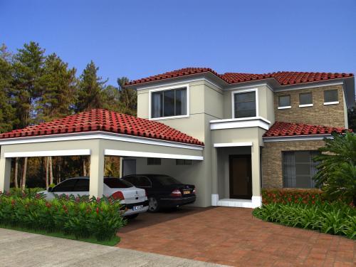 Casas y estilos fachadas for Estilos de casas modernas
