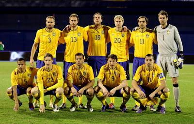 Daftar Squad Swedia untuk EURO 2012