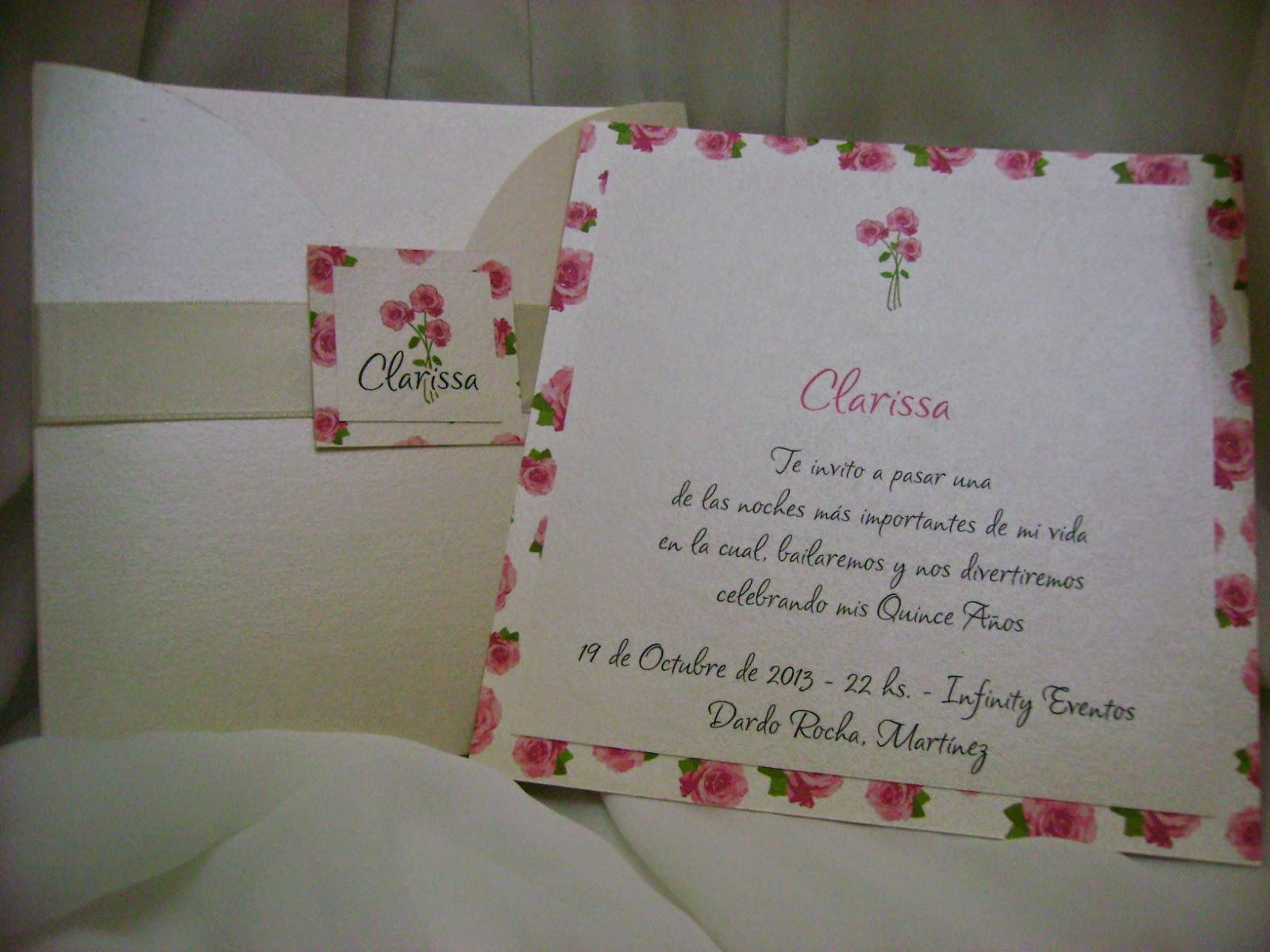 tarjetas de quince años, invitaciones de 15 con flores, tardetas de quince originales, invitaciones de quince romanticas
