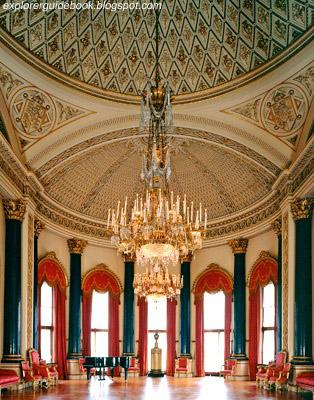 Inside Buckingham Palace Music Room
