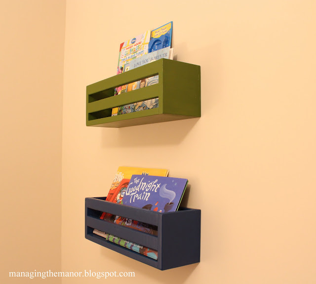 Organized kids room