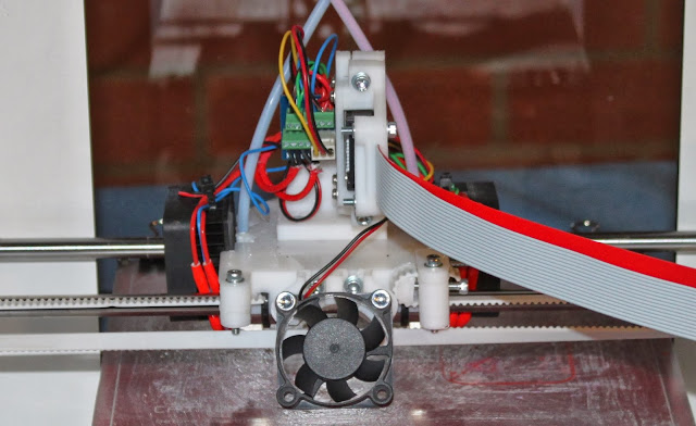 Lasercut Mendel90 Dual Extrusion X Carriage