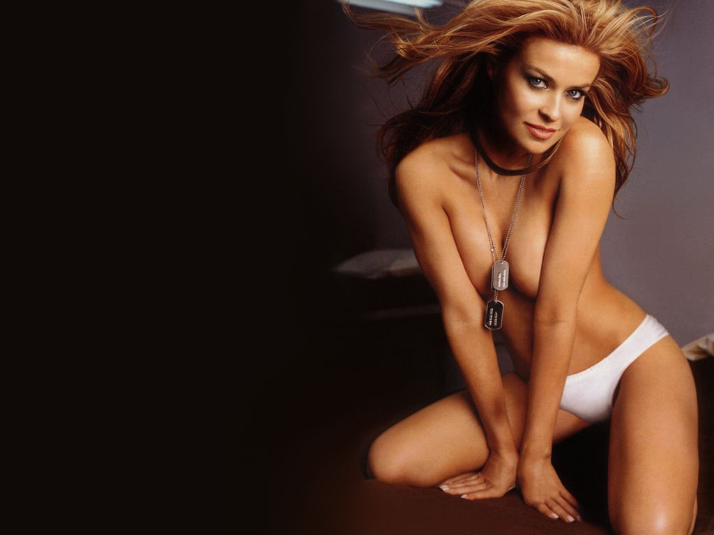 Nude carmen electra photos something