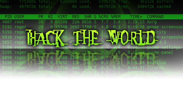 Hack the world