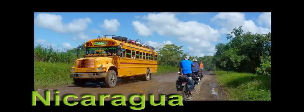 Nicaragua en bicicleta