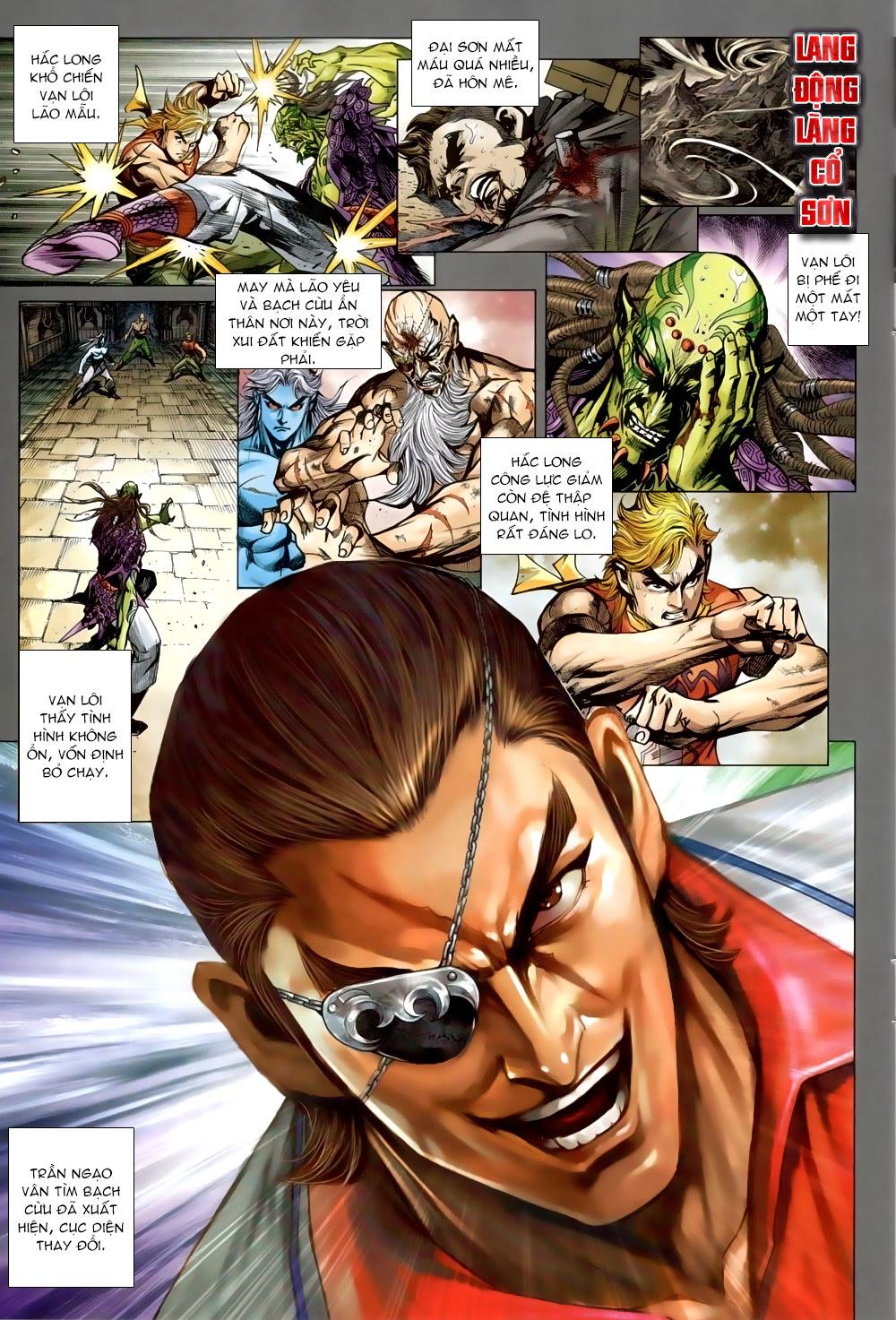 Tân Tác Long Hổ Môn chap 819 Trang 9 - Mangak.info