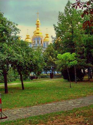 Купола Михайловского собра