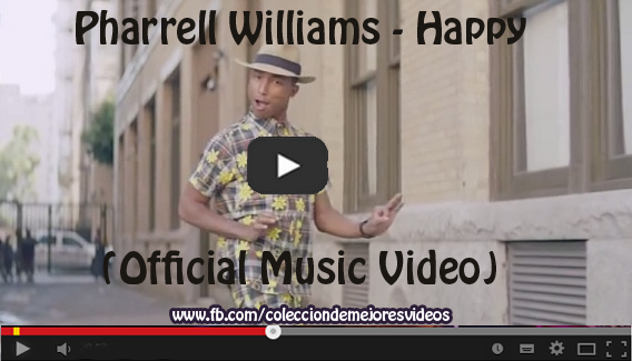 Pharrell Williams, Happy, Vídeo Musical,