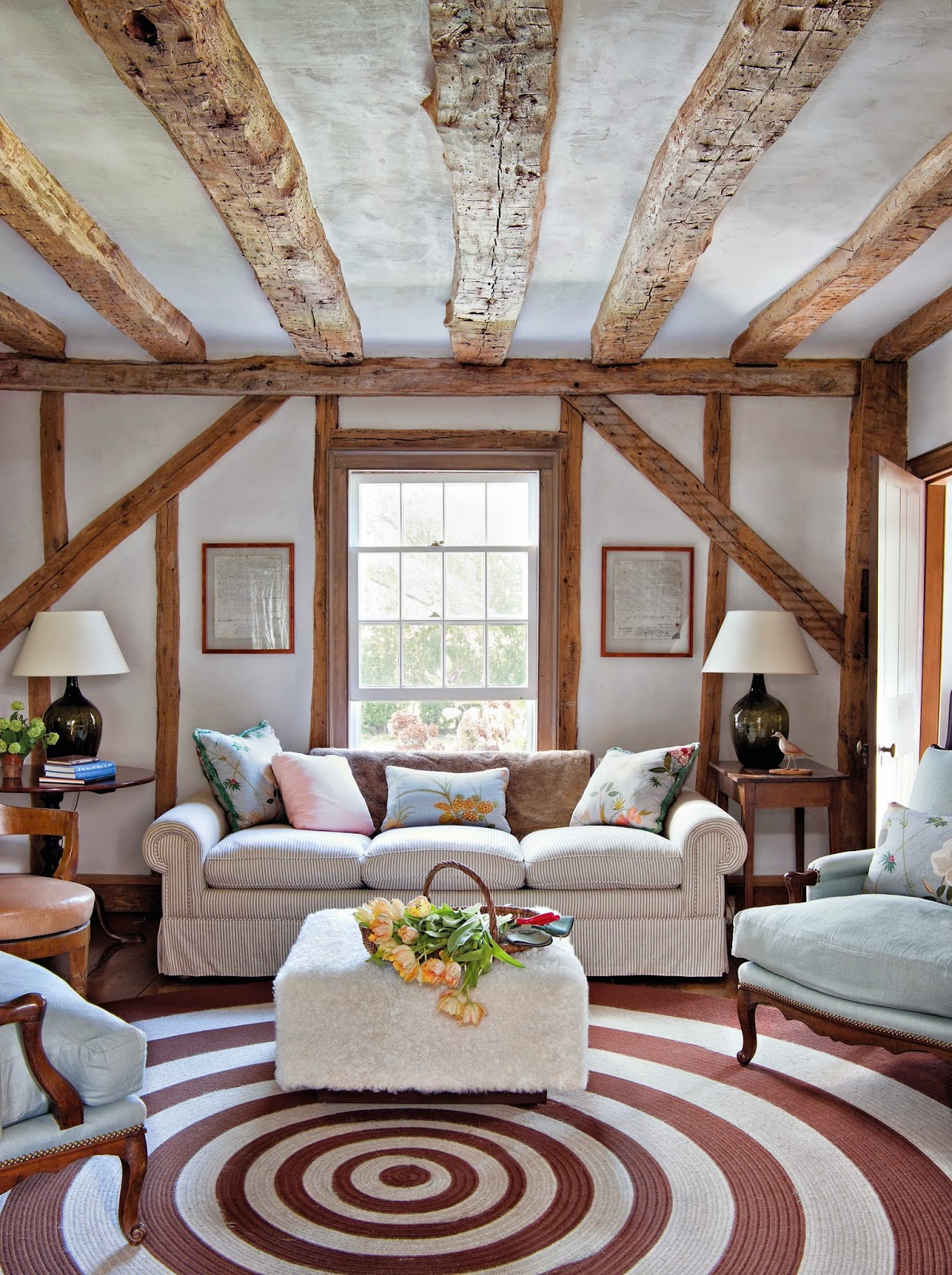 Classic Cozy Living Room